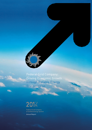 Federal Grid Company of Unified Energy Systems annual report 2012