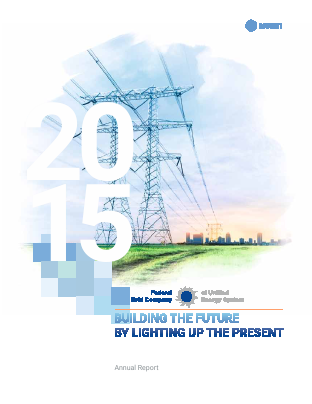 Federal Grid Company of Unified Energy Systems annual report 2015