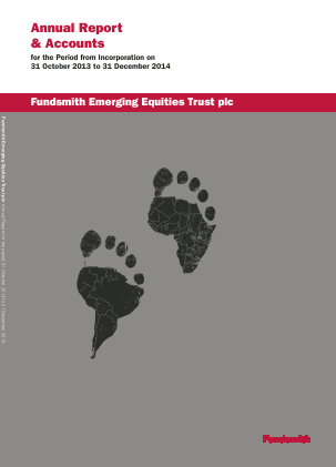Fundsmith Emerging Equities Trust Plc annual report 2014