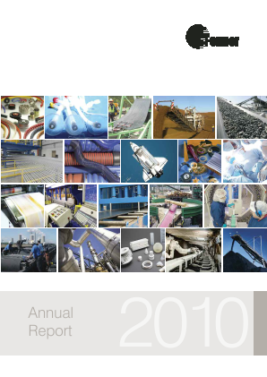 Fenner Plc annual report 2010