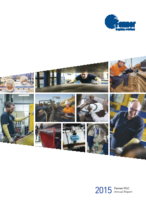 Fenner Plc annual report 2015