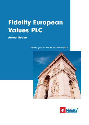 Fidelity European Values annual report 2012