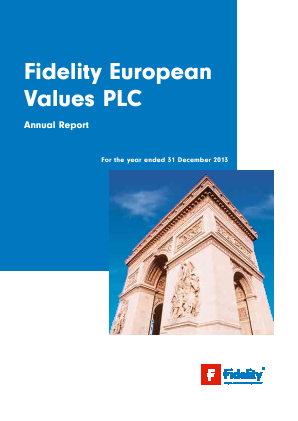 Fidelity European Values annual report 2013
