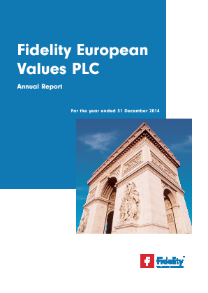 Fidelity European Values annual report 2014