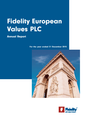 Fidelity European Values annual report 2015