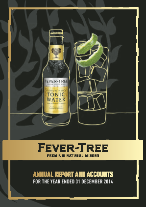 Fevertree Drinks Plc annual report 2014
