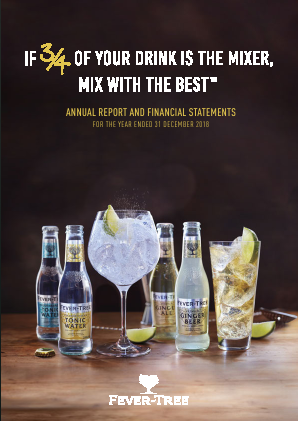 Fevertree Drinks Plc annual report 2018