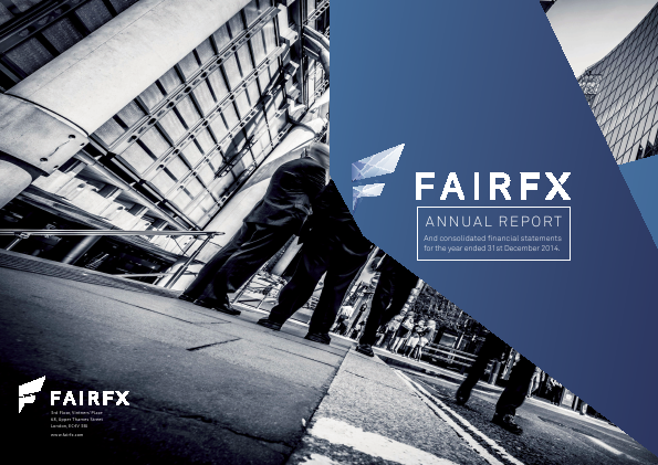 Fairfx Group Plc annual report 2014