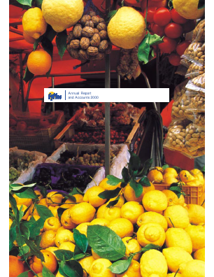 Fyffes annual report 2000