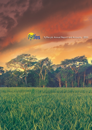 Fyffes annual report 2003