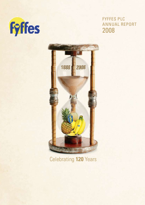 Fyffes annual report 2008