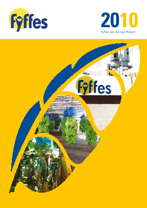 Fyffes annual report 2010