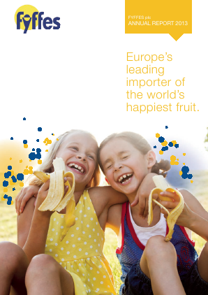 Fyffes annual report 2013