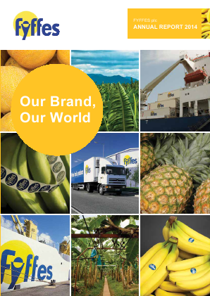 Fyffes annual report 2014