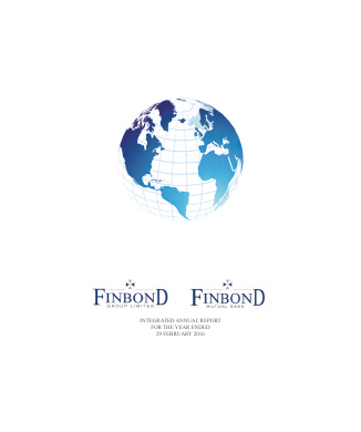 Finbond Group annual report 2016