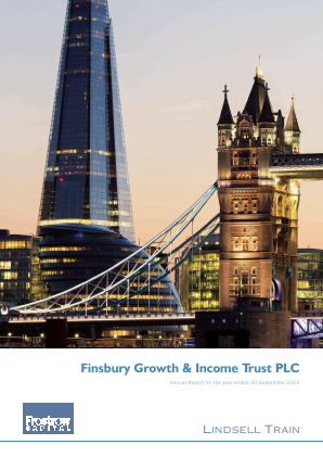 Finsbury Growth & Income Trust annual report 2014
