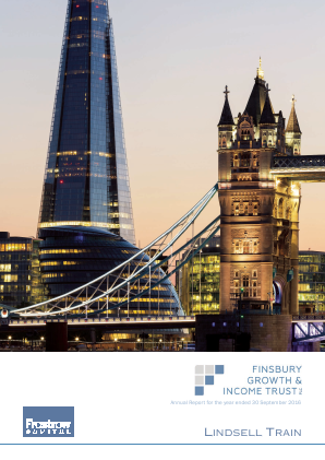 Finsbury Growth & Income Trust annual report 2016