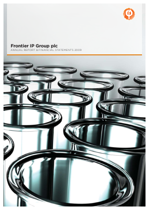 Frontier Ip Group Plc annual report 2009