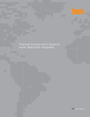 Fiserv, Inc. annual report 2011