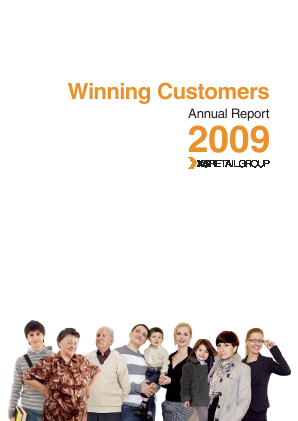 X5 Retail Group NV annual report 2009