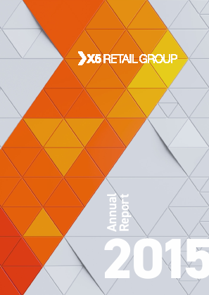 X5 Retail Group NV annual report 2015