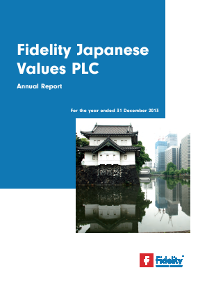 Fidelity Japanese Values annual report 2013
