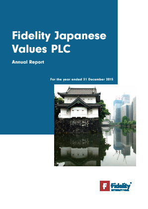 Fidelity Japan Trust annual report 2015