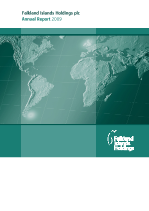 FIH (Falkland Islands Holdings) annual report 2009