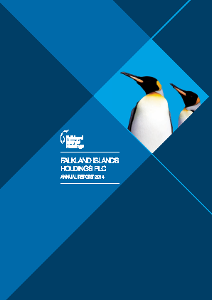 FIH (Falkland Islands Holdings) annual report 2014