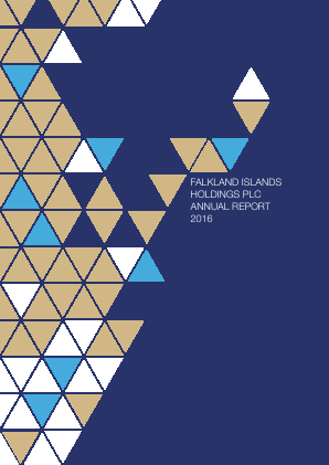 FIH (Falkland Islands Holdings) annual report 2016