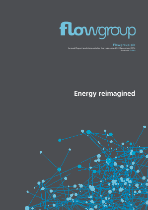 Flowgroup Plc annual report 2014