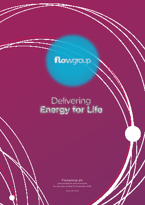 Flowgroup Plc annual report 2016