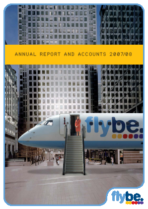 Flybe Group Plc annual report 2008