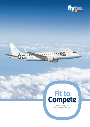 Flybe Group Plc annual report 2013