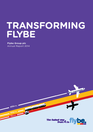 Flybe Group Plc annual report 2014