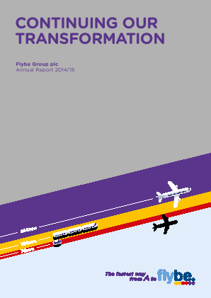 Flybe Group Plc annual report 2015