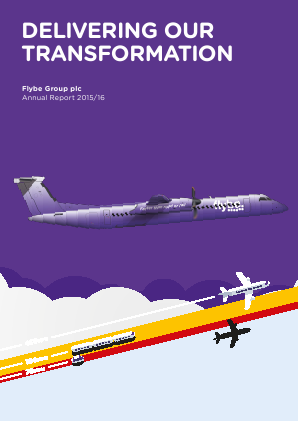 Flybe Group Plc annual report 2016