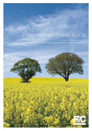 F&C Managed Portfolio Trust Plc annual report 2016