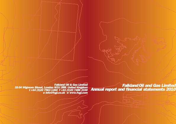 Falkland Oil & Gas annual report 2010