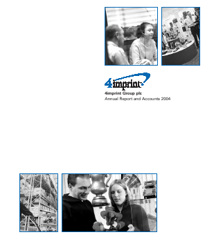 4imprint Group Plc annual report 2004