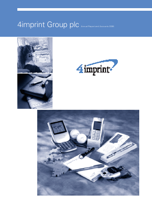 4imprint Group Plc annual report 2006
