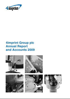 4imprint Group Plc annual report 2009