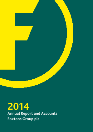 Foxtons Group Plc annual report 2014
