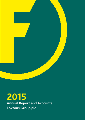 Foxtons Group Plc annual report 2015