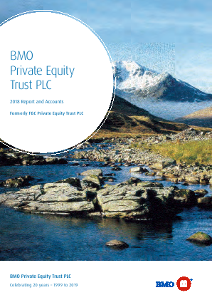 F&C Private Equity Trust annual report 2018