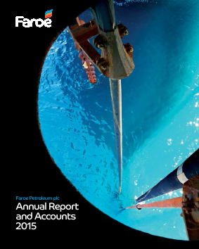 Faroe Petroleum Plc annual report 2015