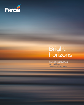 Faroe Petroleum Plc annual report 2017