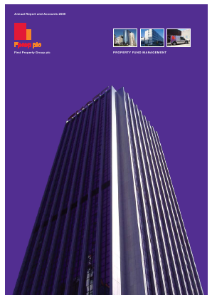 First Property Group annual report 2009