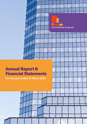 First Property Group annual report 2014