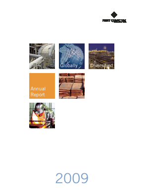 First Quantum Minerals annual report 2009